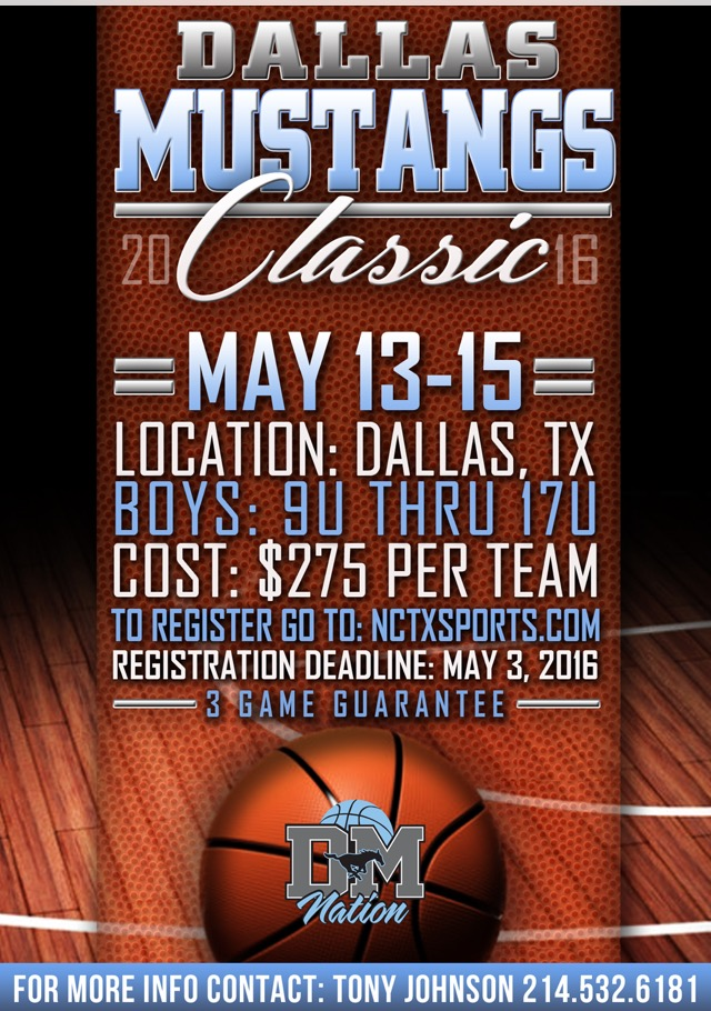 Dallas Mustangs Classic | NCTX Sports