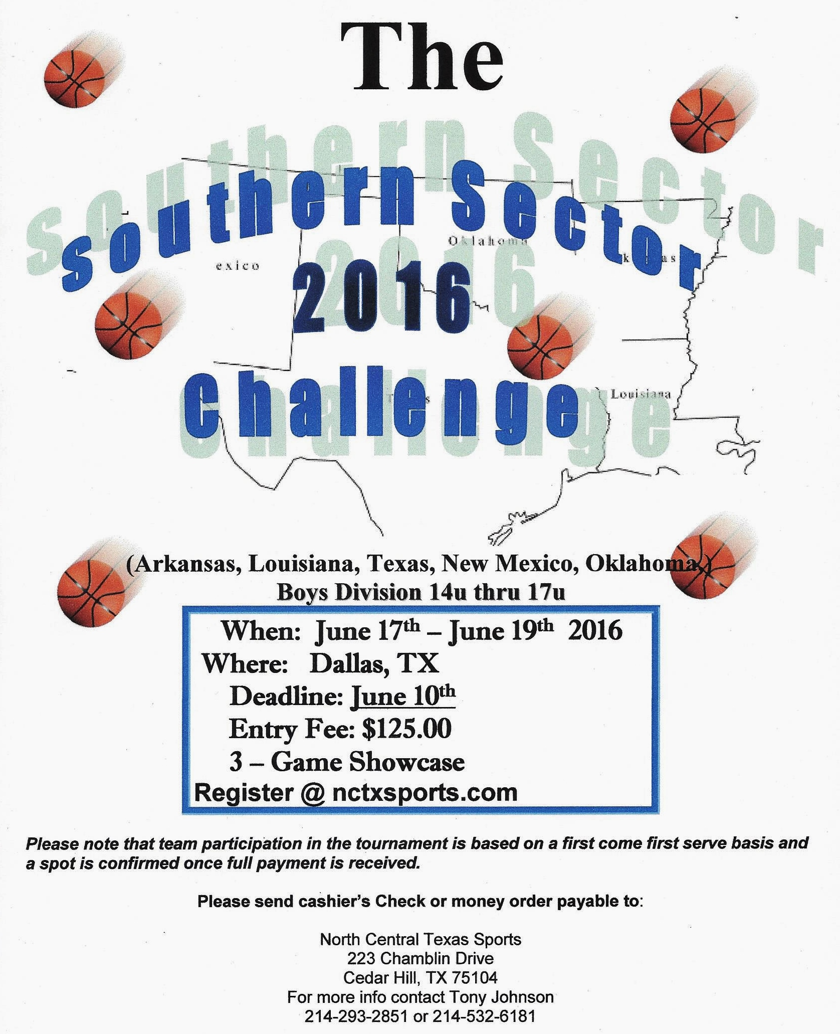 The Southern Sector Challenge 2016 jpg 001